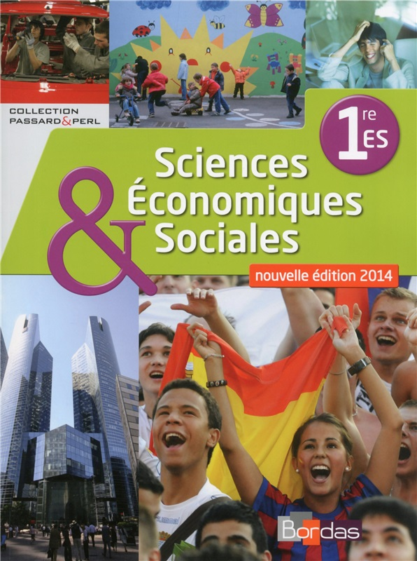 SES 1re ES - Coll° Passard & Perl - 2014