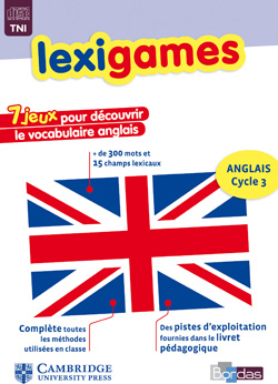 Anglais Cycle 3 - Lexigames