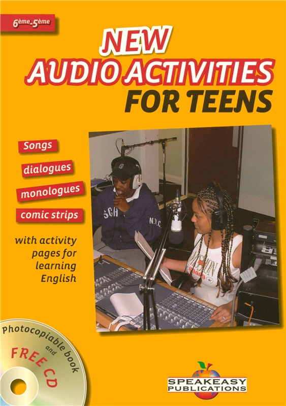 New audio activities for teens 6e/5e