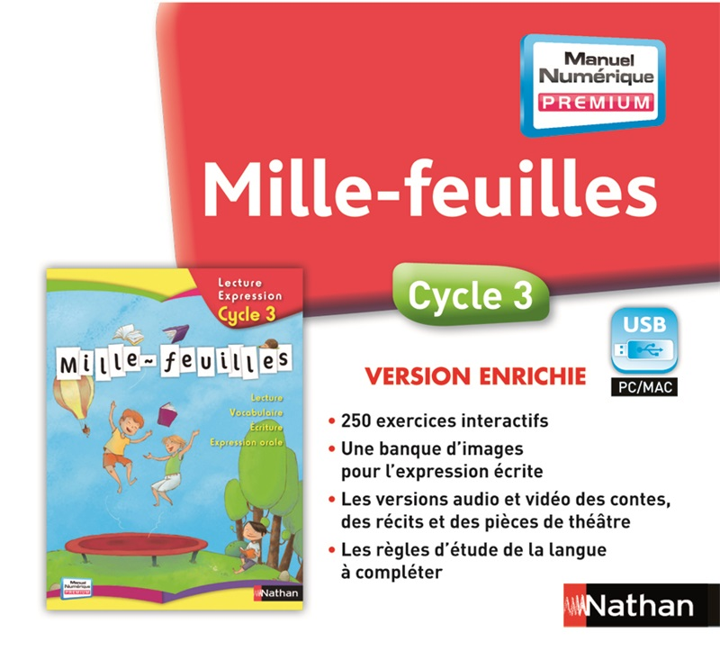 Mille-feuilles Cycle 3