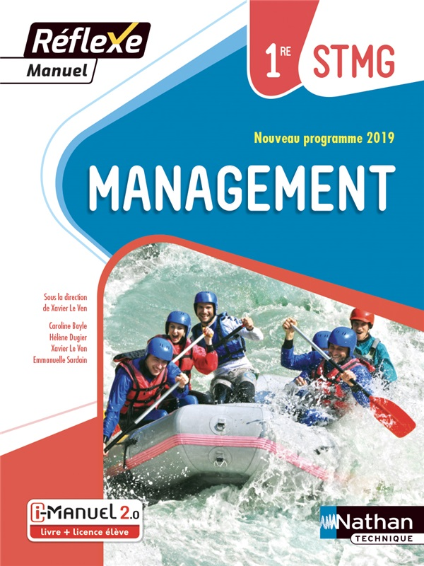 Management - 1re STMG - Coll. Réflexe - Ed.2019