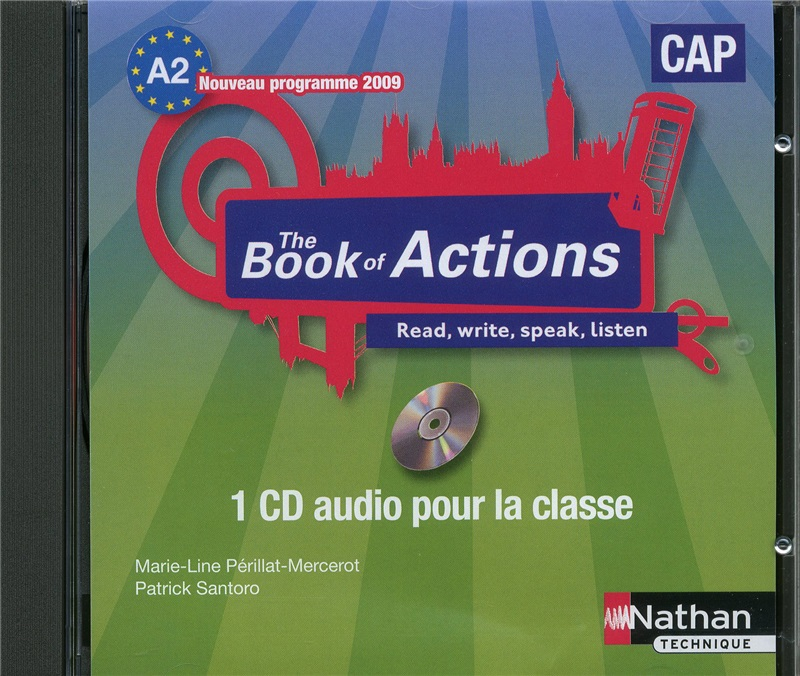 The Book of Actions - Anglais - CAP, A2 -1 CD audio collectif
