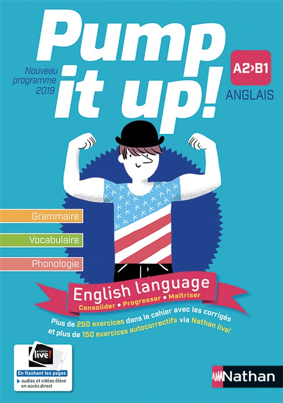 Pump it up! English language A2>B1 - 2019