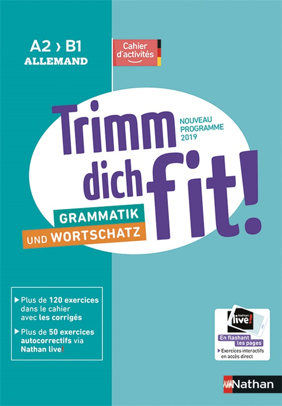 Trimm dich fit! Cahier de langue A2>B1 - 2019