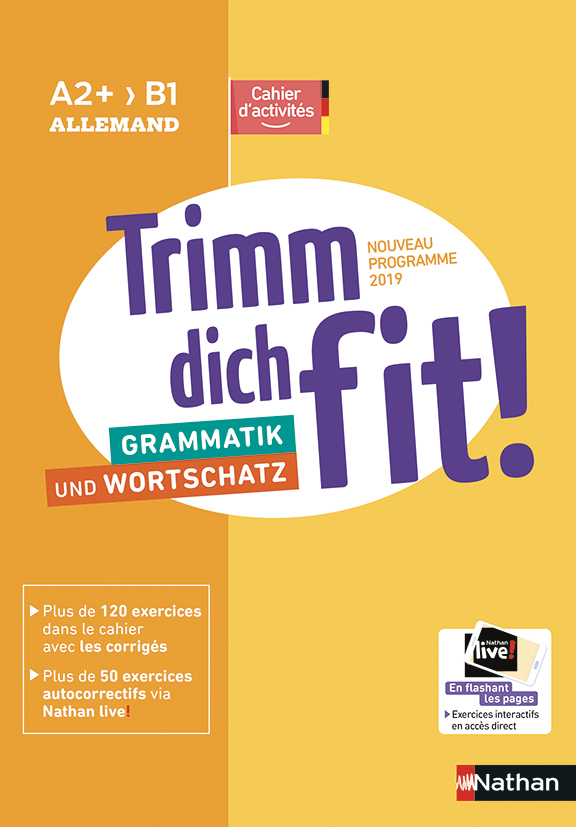 Trimm dich fit! Cahier de langue A2+>B1 - 2019