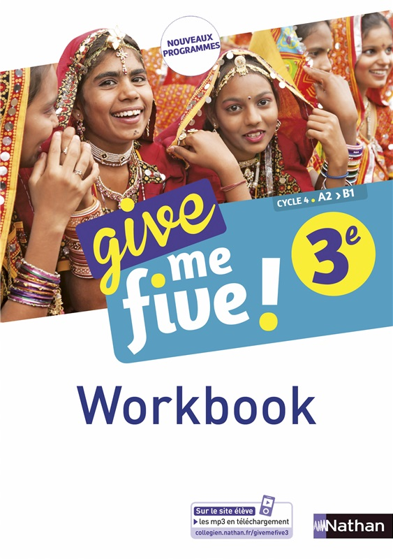 Workbook numérique Give me five 3e - 2017