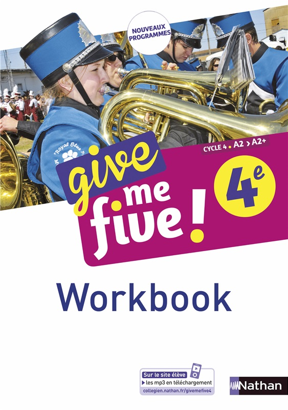 Workbook numérique Give me five 4e - 2017