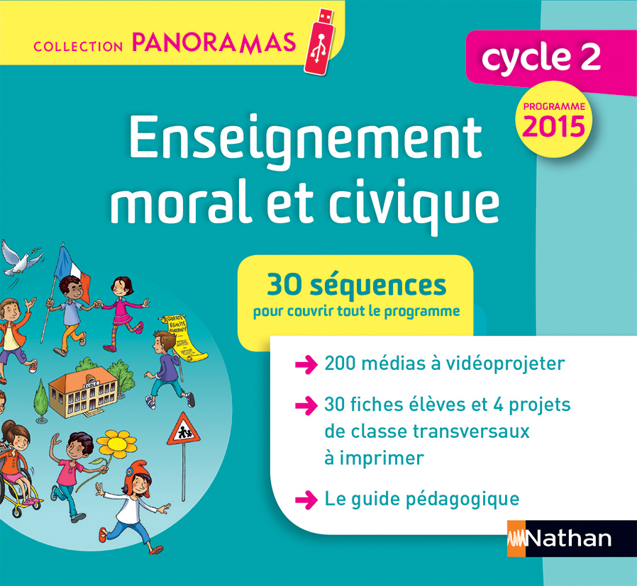 Panoramas - Enseignement moral et civique Cycle 2 (clé USB)