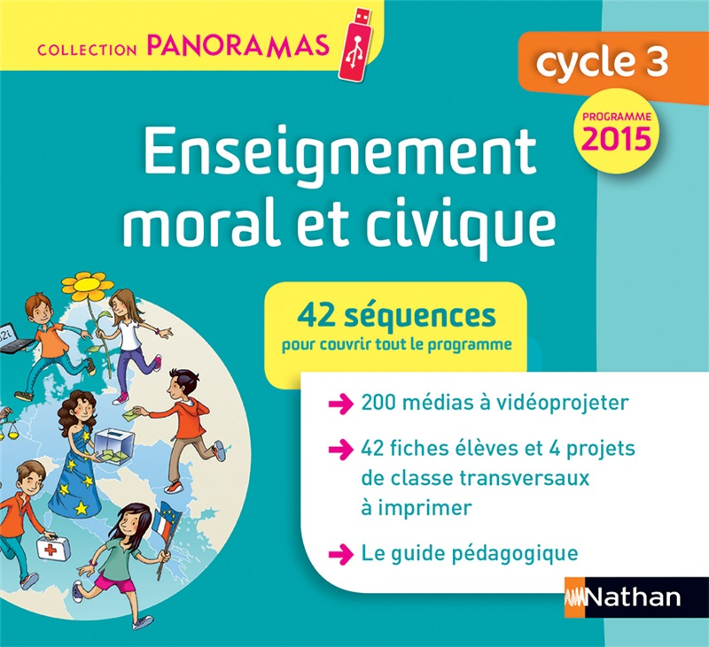 Panoramas - Enseignement moral et civique Cycle 3 (clé usb)