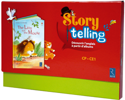 Storytelling CP/CE1 - The Lion And The Mouse