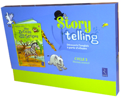 Storytelling Cycle 3 - How Zebras Got Their Stripes