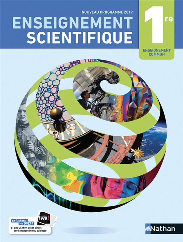 Enseignement scientifique 1re - 2019