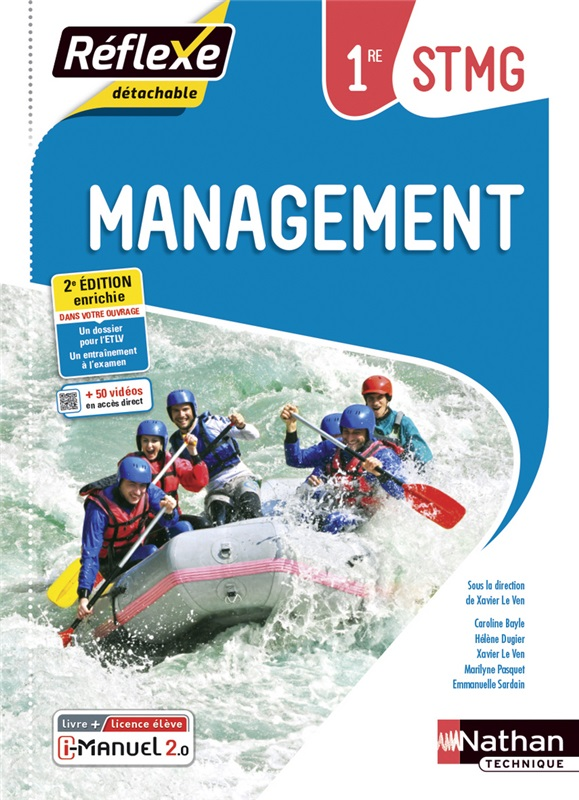 Management - 1re STMG - Coll. Réflexe - Ed. 2021