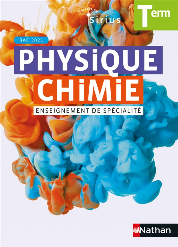 Sirius Physique-Chimie Terminale - 2020