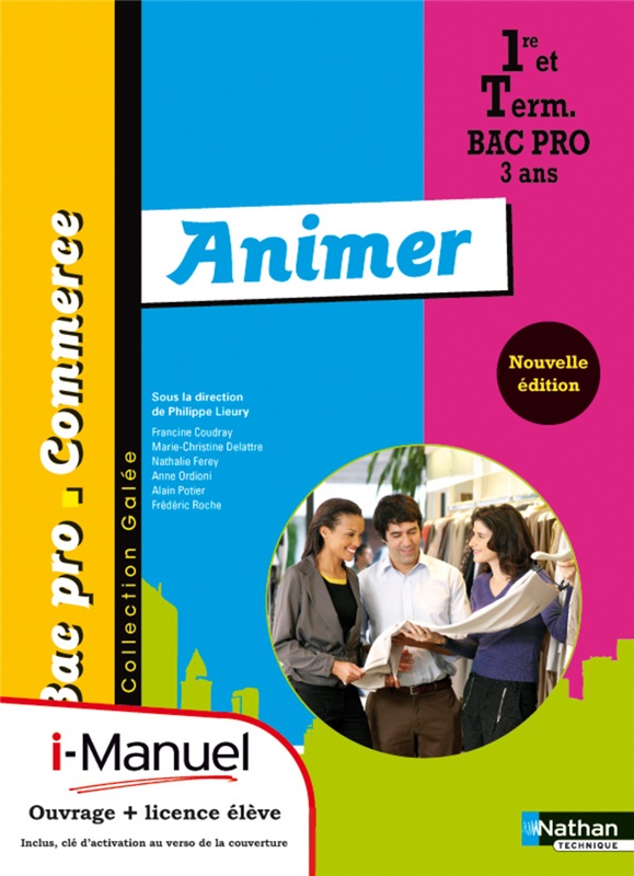 Bac Pro Commerce Animer Coll. Galée