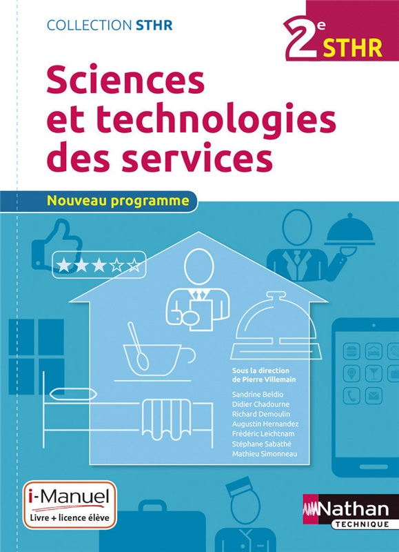 Bac STHR Sciences et technologies de services Coll. STHR