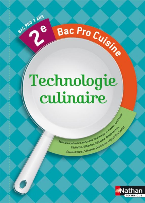 Technologie culinaire 2e bac pro cuisine professeur - Fiche bilan de competences bac pro cuisine ...