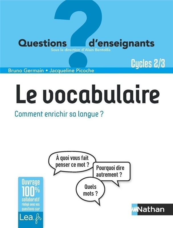 Ebook - Le vocabulaire