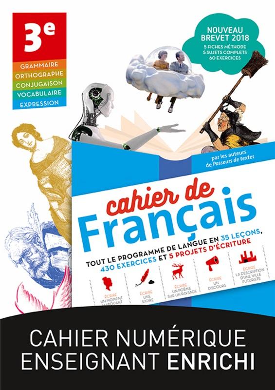 Cahiers De Francais Le Robert 4e Et 3e 2018